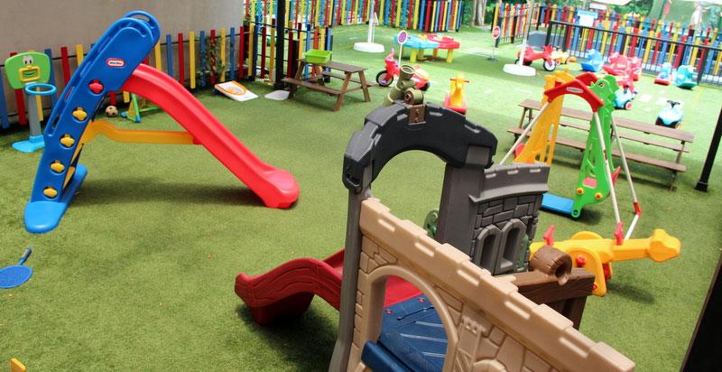 Noleggio area giochi bimbi